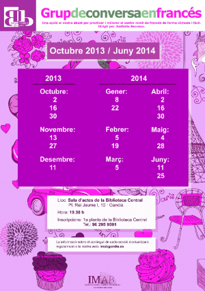 Cartell frances 2013-2014