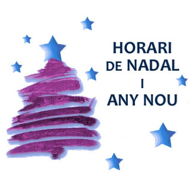 Horaris Nadals i Any Nou