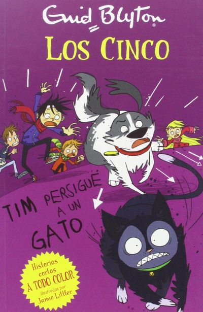 Tim persigue a un gato